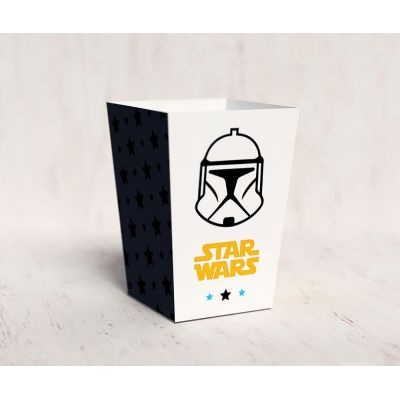 """Коробочка для попкорна """"Звездные войны"""", Боба Фетт"""