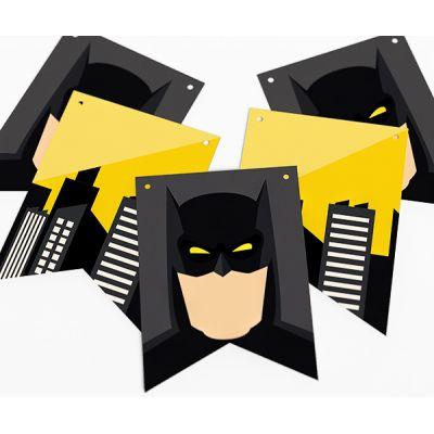 "Гирлянда прямоугольная ""Бэтмен"" Готэм-Сити"