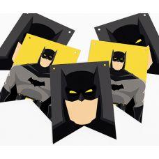"Гирлянда прямоугольная ""Бэтмен"" желтая"