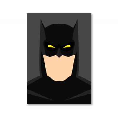 постер в стиле Бэтмен