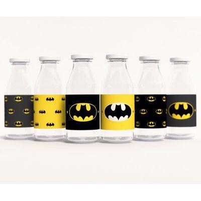 """Этикетки для напитков """"Бэтмен"""""""