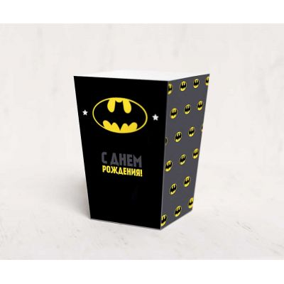 """Коробочка для попкорна """"Бэтмен"""""""