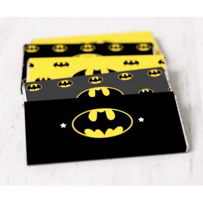 "Этикетки на шоколад ""Бэтмен"""