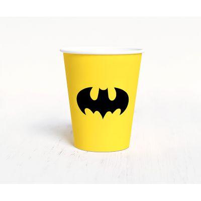 """Стаканчик """"Бэтмен"""" мышь, желтый"""