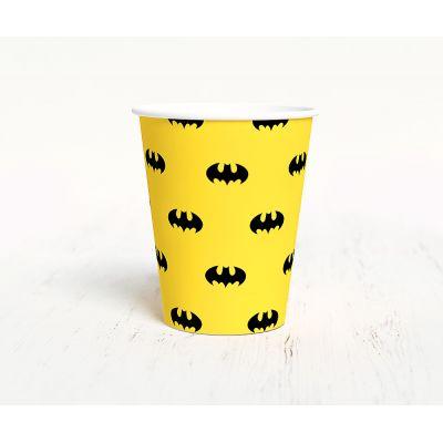 """Стаканчик """"Бэтмен"""", желтый"""