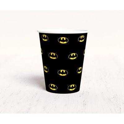 """Стаканчик """"Бэтмен"""", черный"""