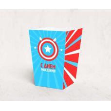 "Коробочка для попкорна ""Капитан Америка"""