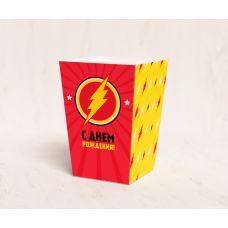 """Коробочка для попкорна """"Флеш"""""""