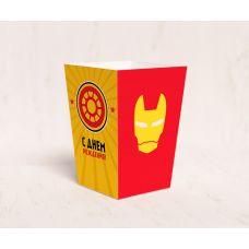 "Коробочка для попкорна ""Железный человек"""