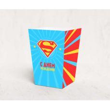 """Коробочка для попкорна """"Супермен"""""""