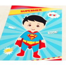 "Плакат ""Супергерои. Супермен"""