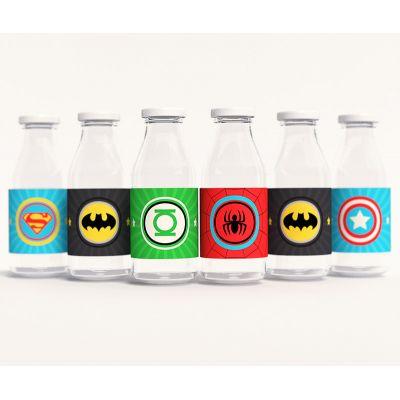 """Этикетки для напитков """"Супергерои"""""""
