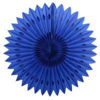 Веерный круг синий