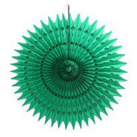 Веерный круг зеленый