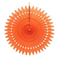 Веерный круг оранжевый