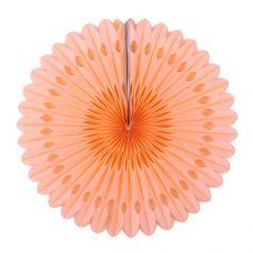 Веерный круг персиковый