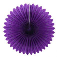 Веерный круг фиолетовый