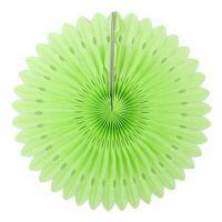 Веерный круг салатовый