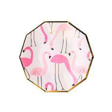 """Тарелки """"Фламинго"""" многоугольные"""