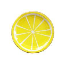 """Тарелки """"Лимон"""" желтые"""