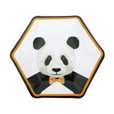 """Тарелки """"Панда"""" многоугольные"""