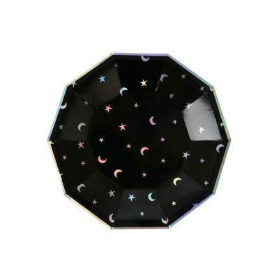 Черные космические тарелки