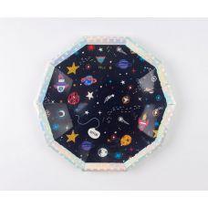 """Тарелки """"Космос"""" многоугольные"""