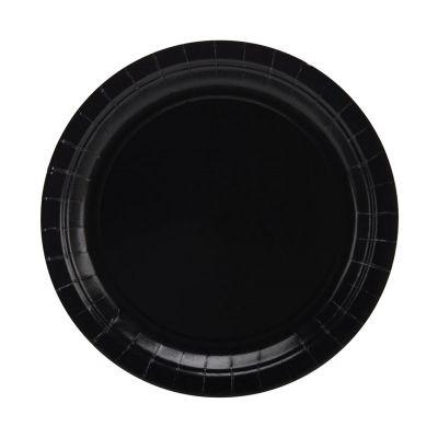 Тарелки черные