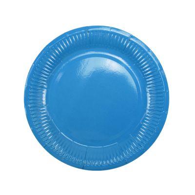 Тарелки синие
