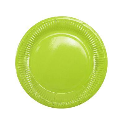 Тарелки салатовые