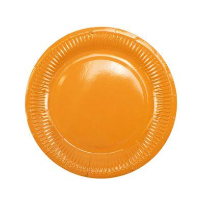 Тарелки оранжевые
