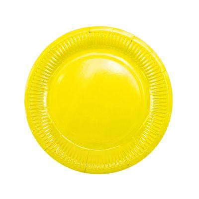 Тарелки жёлтые