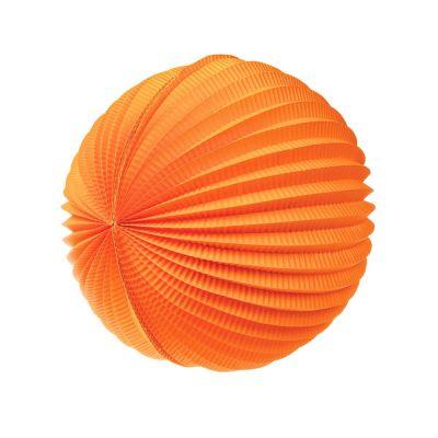 Шар-аккордеон. Оранжевый