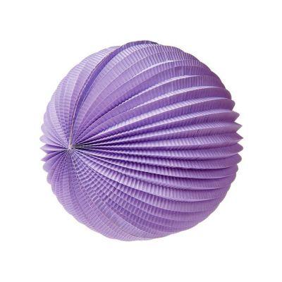 Шар-аккордеон. Фиолетовый
