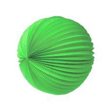 Шар-аккордеон. Зеленый