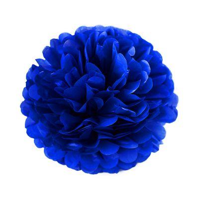 Помпон темно-синий