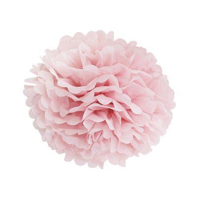 Помпон нежно-розовый