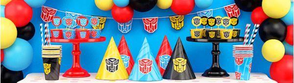 День рождения в стиле Трансформеры