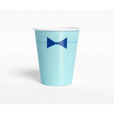 """Стаканчик """"Ультрамарин"""" бант-галстук, голубой"""