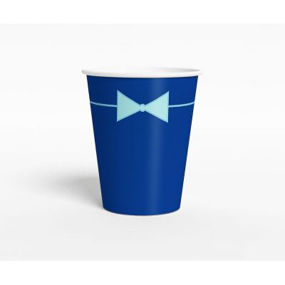 "Стаканчик ""Ультрамарин"" бант-галстук, синий"