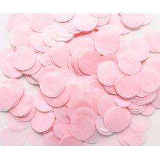Конфетти. Нежно-розовый цвет