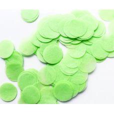 Конфетти. Салатовый цвет