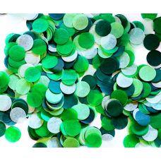 Микс конфетти. Оттенки зеленого