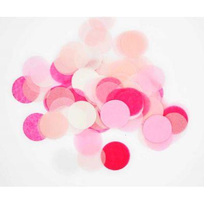 Микс конфетти. Оттенки розового