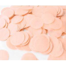 Конфетти. Персиковый цвет