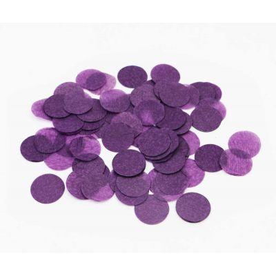 Конфетти. Фиолетовый цвет