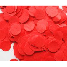 Конфетти. Красный цвет