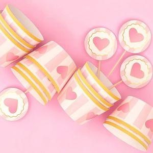 Очаровательные формочки и топперы для украшения капкейков на празднике маленькой принцессы 💟