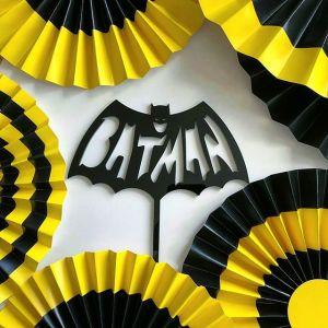 Акриловый топпер в торт для праздника настоящего супергероя!
